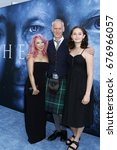"""Small photo of LOS ANGELES - JUL 12: Girlfriend, Alan Taylor, daughter at the """"Game of Thrones"""" Season 7 Premiere Screening at the Walt Disney Concert Hall on July 12, 2017 in Los Angeles, CA"""