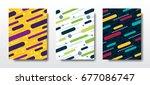 graphic vector design | Shutterstock .eps vector #677086747