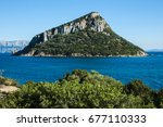 beautiful view on figarolo... | Shutterstock . vector #677110333