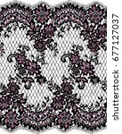 seamless vector lace pattern | Shutterstock .eps vector #677127037