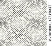 geometric lines maze seamless... | Shutterstock .eps vector #677146687