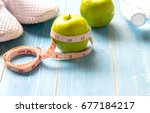 healthy lifestyle sport... | Shutterstock . vector #677184217