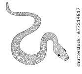 hand drawn vector doodle...   Shutterstock .eps vector #677214817