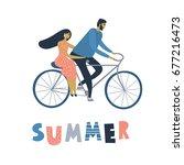 vector illustration  flat... | Shutterstock .eps vector #677216473