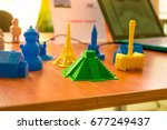 small prototypes of different... | Shutterstock . vector #677249437
