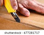unboxing  | Shutterstock . vector #677281717