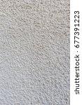 plastered wall background | Shutterstock . vector #677391223