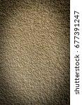 plastered wall background | Shutterstock . vector #677391247