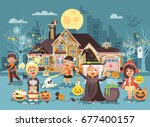 stock vector illustration... | Shutterstock .eps vector #677400157