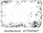 halftone dots background   logo ... | Shutterstock .eps vector #677445367