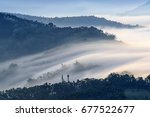 good morning  at nantou taiwan.   Shutterstock . vector #677522677