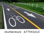 bicycle signs on the bicycle... | Shutterstock . vector #677541613