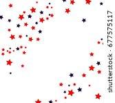 Usa Celebration Confetti Stars...