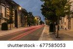 avenue de champagne with... | Shutterstock . vector #677585053