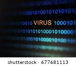 internet security concept for... | Shutterstock . vector #677681113
