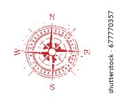 compass background | Shutterstock .eps vector #677770357