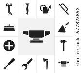 set of 12 editable apparatus...