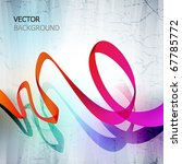 abstract vector background. | Shutterstock .eps vector #67785772