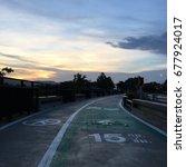 Small photo of bike lane & walk lane