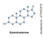epiandrosterone is a steroid...   Shutterstock .eps vector #677931973