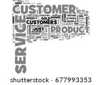 what is customer service text... | Shutterstock .eps vector #677993353