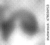 ink print distress background . ... | Shutterstock . vector #678036913