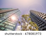 high rise building group | Shutterstock . vector #678081973