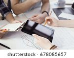 business situations. people in...   Shutterstock . vector #678085657