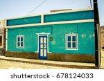 Small photo of Maison dans une petit village du Cap Vert sur l'ile de Boa Vista
