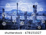Industry 4.0 concept image....