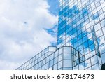 the clouds floating over the... | Shutterstock . vector #678174673