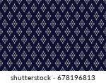 geometric ethnic pattern