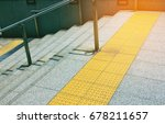 braille block  tactile paving... | Shutterstock . vector #678211657