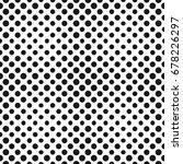 vector halftone circles... | Shutterstock .eps vector #678226297
