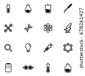 science and labs icon | Shutterstock .eps vector #678261427