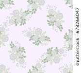 flowery bright pattern in small ... | Shutterstock .eps vector #678266047
