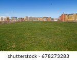 cityscape estate or housing... | Shutterstock . vector #678273283