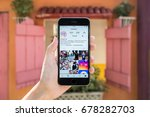chiang mai  thailand   july 8 ...   Shutterstock . vector #678282703