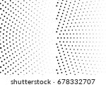 abstract halftone dotted...   Shutterstock .eps vector #678332707
