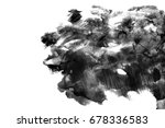 abstract ink background. marble ... | Shutterstock . vector #678336583