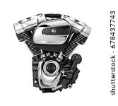 Modern Motorcycle Engine...
