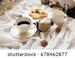 coffee time break cafe and... | Shutterstock . vector #678462877