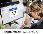 date month calendar appointment ...   Shutterstock . vector #678476077
