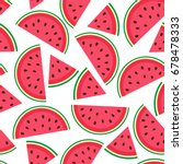 vector seamless pattern with... | Shutterstock .eps vector #678478333