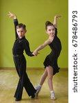 Dance Children Couple Dancing...