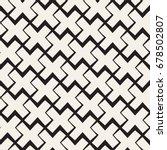 vector seamless black and white ... | Shutterstock .eps vector #678502807