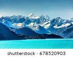 alaska nature landscape view... | Shutterstock . vector #678520903