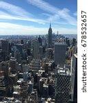 manhattan's skyscrapers | Shutterstock . vector #678532657
