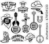 Set Of Country Music Festival...