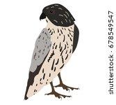 falcon. logo  icon  symbol. | Shutterstock .eps vector #678549547